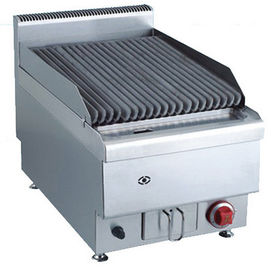 Batu Gas 7.2KW Commercial Gas Lava Grill Top Counter Alam Atau LPG