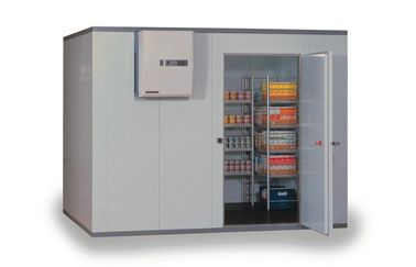 Terisolasi Kitchen Commercial Kulkas Freezer, Berjalan-In Cold Storage Room